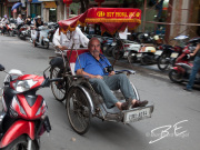 Touristentransport in Hanoi